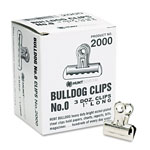 Elmer's Bulldog Clips, 5/16 Capacity, 1 Wide