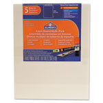 Elmer's Pre-Cut White Foam Board Sheets, 8 x 10, 5/PK