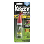 Krazy Glue Maximum Bond Krazy Glue, Clear, Gel, 4 g Tube
