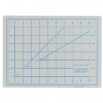 "Elmer's Gray Self-Healing Cutting Mat with Nonslip Bottom, 1 Grid, 12"" x 18"""