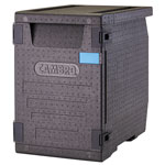 Cambro Cam GoBox Front Loader EPP400, Black