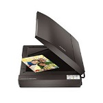 Epson Black Perfection V300 Photo Flatbed Scanner, 4800 x 9600 Dpi