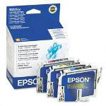 Epson Ink Jet Printer Cartridge for Stylus Color 80, 80N, 80WN, 3 Color Multi Pack