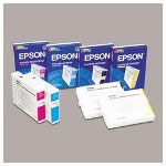Epson Ink Jet Cartridge, Stylus Pro 10000, 10600, Photographic Dye, Cyan