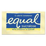 Equal® Zero Calorie Sweetener, 0.035 oz Packet, 100/Box, 12 Box/Carton