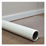 E.S. Robbins Roll Guard Temporary Floor Protection Film for Carpet, 24 x 2400, Clear