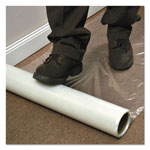 E.S. Robbins Roll Guard Temporary Floor Protection Film for Carpet, 36 x 2400, Clear