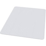 E.S. Robbins Anchormat Chair Mat For Low Pile/Loop Carpets, 46w x 60h, Clear