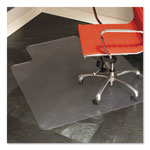 E.S. Robbins Anchormat Chair Mat For Hard Surface Floors, 45w x 53h, Clear