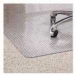 E.S. Robbins Dimensions Chair Mat for Carpet, 36 x 48, Clear