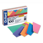 "Esselte Index Cards, Ruled, 3"" x 5"" Assorted"