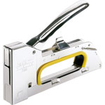 Rapid Staple Gun R23, Uses No.19 Staples, Chrome