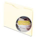 Esselte Antimicrobial Reinforced Manila File Jacket, Two Inch Expansion, Letter, 50/Box