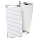 Ampad Envirotec Reporter Spiral Notebook, Gregg Rule, 4 x 8, White, 70 Sheets