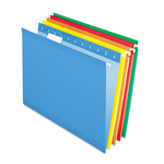 Pendaflex Reinforced Hanging File Folders, Kraft, Letter, Brites, 25/Box