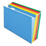 Pendaflex Reinforced Hanging File Folder, Kraft, Legal, Brites, 25/Box