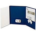 Esselte Tri-fold Report Cover, Blue, Pack of 4