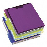 Esselte PileSmart® 75 Sheet View Binder, Assorted Colors
