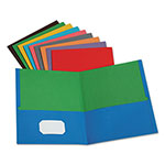 Oxford Twisted Twin Pocket Folder, 100-Sheet Capacity, Assorted