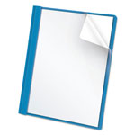 Pendaflex Clear Front Report Cover, Blue, Box of 25