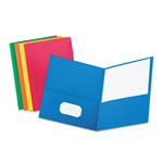 Pendaflex Two Pocket Portfolio, Assorted Colors, Box of 25