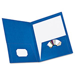 Esselte 8-Pocket Report Cover, Blue, Each