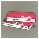 "Flexsol Extra Heavy Clear Flat-Bottom Trash Bags, 55 Gallon, 17 Micron, 30"" X 36"", Case of 200"