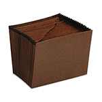 Pendaflex Redrope Expanding File, Open Top, A Z Index, 9 3/4 x 7 1/2, Invoice Size