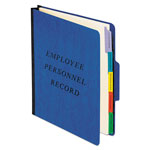 Pendaflex Classification Style Vertical Personnel Folders, Recycled, Blue