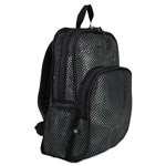 Eastsport Mesh Backpack, 12 x 17 1/2 x 5 1/2, Black