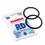 Eureka Replacement Belt Bagless Sanitaire Lightweight Commercial, 2/Pack