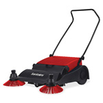 "Eureka Sanitaire® Vacuum Sweeper, 32"" Wide, 37""x32""x16"", Red/Black"