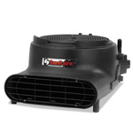 "Electrolux Precision Air Mover, 3400 FPM, Black, 22""W x 16 1/2""D x 11 1/2""H, 120 V"