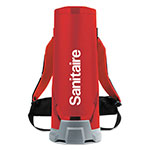 Eureka Sanitaire® Quiet Clean HEPA Backpack Vac, 10 qt, Red
