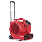 Eureka Sanitaire® DRY TIME Air Mover with Wheels and Handle, 1281 cfm, Red, 20 ft Cord