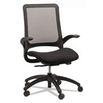Eurotech Hawk Mesh-Back Chair, Black