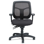 Eurotech Apollo Multi-Function Mesh Task Chair, Silver Fabric Seat/Silver Mesh Back