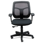 Eurotech Apollo Mid-Back Mesh Chair, Silver Seat/Silver Back