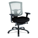 Tempur-Pedic® 600 Mesh-Back Multifunction Chair, Black Fabric Seat/Black Mesh Back