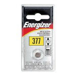 Energizer 377BP Silver Oxide Watch, Electronic Battery