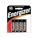 Eveready Energizer Alkaline Battery, Aa