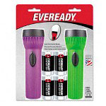 Eveready Assorted Colors Economy Bright Light Flashlight
