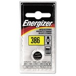 Energizer 386 Alkaline Watch, Electronic, Specialty Battery