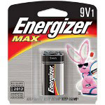 Max® 522BP Alkaline Batteries, 9V