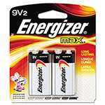 Max® 522BP-2 Alkaline Batteries, 9V