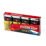 Eveready® Gold A522-4 Alkaline Batteries, 9V