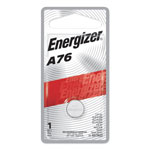 Eveready Watch/Electronic Battery, Alkaline, A76, 1.5V, MercFree