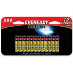 Energizer Gold A92BP-12H Alkaline Batteries, AAA