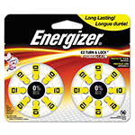 Energizer Hearing Aid Battery, Zero Mercury Coin Cell, 10, 1.4V