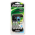 Electrolux Energizer Smart Charger, for AA/AAA Rechargeable Batteries, Green/Silver
